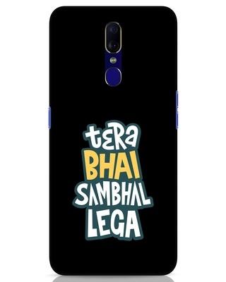 Shop Bhai Sambhal Lega Oppo F11 Mobile Cover-Front