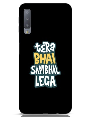 Shop Bhai Sambhal Lega Samsung Galaxy A7 Mobile Cover-Front