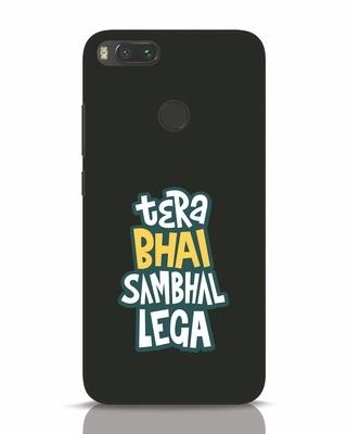Shop Bhai Sambhal Lega Xiaomi Mi A1 Mobile Cover-Front