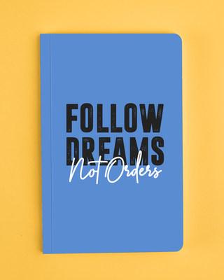 Shop Big Dreams Notebook-Front