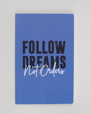 Shop Big Dreams Notebook-Front