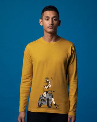 Shop Biker Swag Full Sleeve T-Shirt-Front
