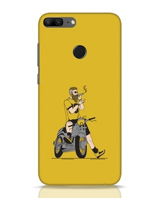 Shop Biker Swag Huawei Honor 9 Lite Mobile Cover-Front