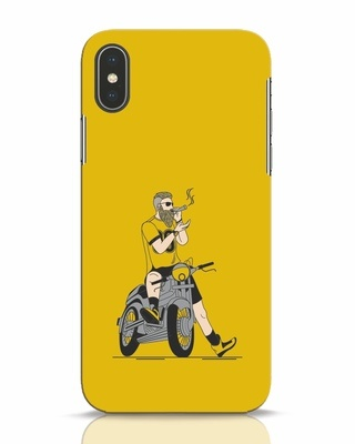 Shop Biker Swag iPhone X Mobile Cover-Front