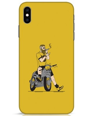 Shop Biker Swag iPhone XS Max Mobile Cover-Front