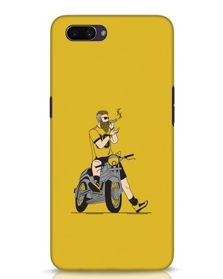 Shop Biker Swag Oppo A3S Mobile Cover-Front
