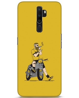 Shop Biker Swag Oppo A5 2020 Mobile Cover-Front