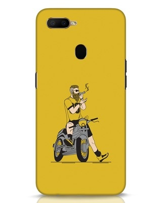 Shop Biker Swag Oppo A5s Mobile Cover-Front