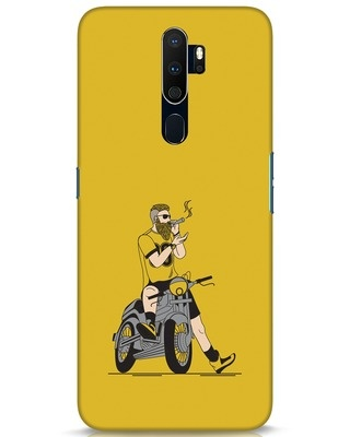 Shop Biker Swag Oppo A9 2020 Mobile Cover-Front