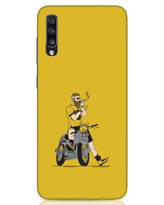 Shop Biker Swag Samsung Galaxy A70 Mobile Cover-Front