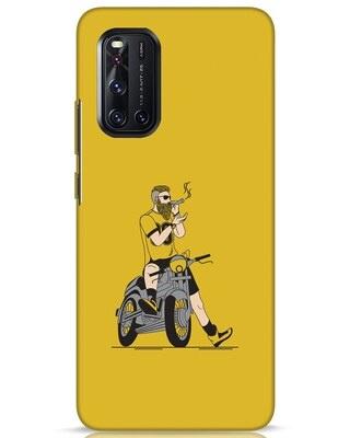 Shop Biker Swag Vivo V19 Mobile Cover-Front