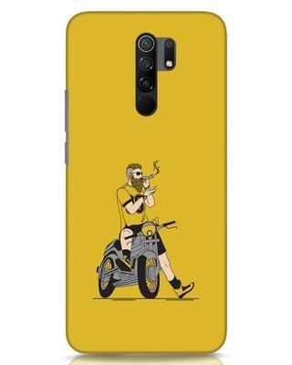Shop Biker Swag Xiaomi Redmi 9 Prime Mobile Cover-Front