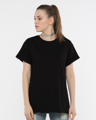 Women plain t shirts buy girl 39 s plain tees at Womens black tee shirt