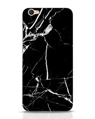 Shop Black Marble Vivo V5 Mobile Cover-Front