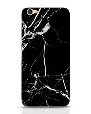 Shop Black Marble Vivo V5 Mobile Cover-Front