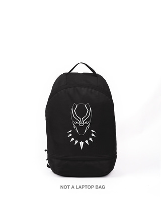 Shop Black Panther Printed Small Backpack (AVL)-Front