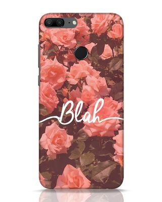 Shop Blah Huawei Honor 9 Lite Mobile Cover-Front