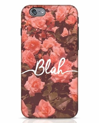 Shop Blah iPhone 6 Mobile Cover-Front