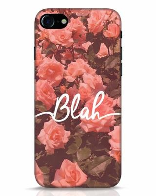 Shop Blah iPhone 8 Mobile Cover-Front