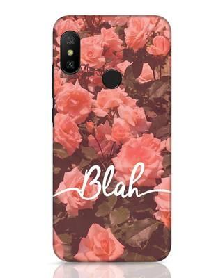 Shop Blah Xiaomi Redmi 6 Pro Mobile Cover-Front