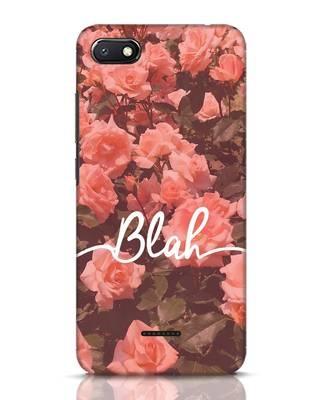 Shop Blah Xiaomi Redmi 6A Mobile Cover-Front
