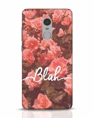 Shop Blah Xiaomi Redmi Note 4 Mobile Cover-Front