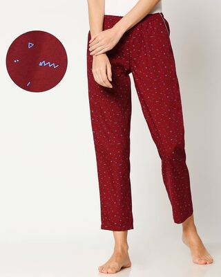 Shop Blue Doodles Women's Pyjama-Front