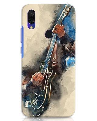Shop Blue Guitar Xiaomi Redmi Y3 Mobile Cover-Front