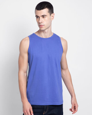 Shop Blue Haze Vest-Front