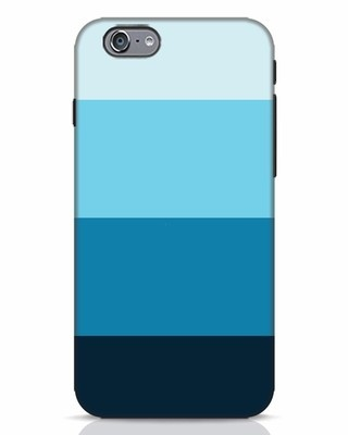 Shop Blue Ombre Stripes iPhone 6 Mobile Cover-Front
