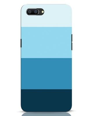 Shop Blue Ombre Stripes Realme C1 Mobile Cover-Front