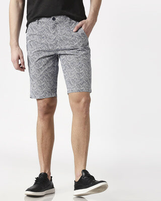 Shop Palm Leaves Men's Shorts-Front