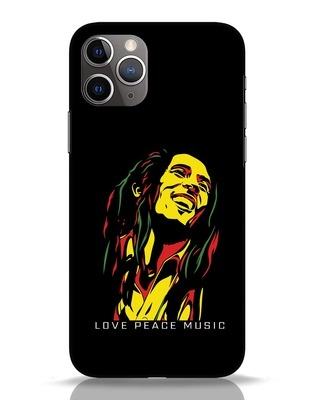 Shop Bob Peace Music iPhone 11 Pro Mobile Cover-Front