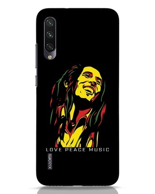 Shop Bob Peace Music Xiaomi Mi A3 Mobile Cover-Front