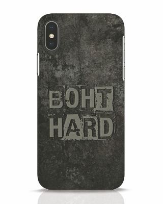 Shop Boht Hard iPhone X Mobile Cover-Front