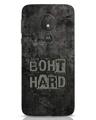 Shop Boht Hard Moto G7 Power Mobile Cover-Front