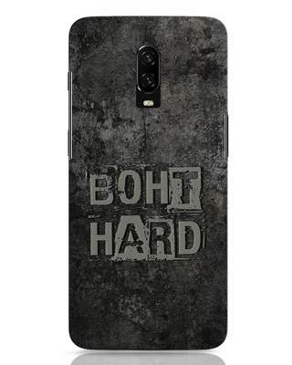 Shop Boht Hard OnePlus 6T Mobile Cover-Front