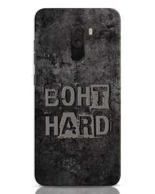 Shop Boht Hard Xiaomi POCO F1 Mobile Cover-Front