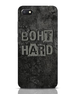 Shop Boht Hard Xiaomi Redmi 6A Mobile Cover-Front