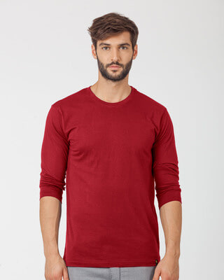 9fa36037cfc Plain T Shirts - Buy Mens Plain T Shirts Online at Rs.259 - Bewakoof.com
