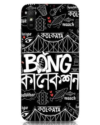 Shop Bong Connection Doodle Xiaomi Redmi 9A Mobile Cover-Front
