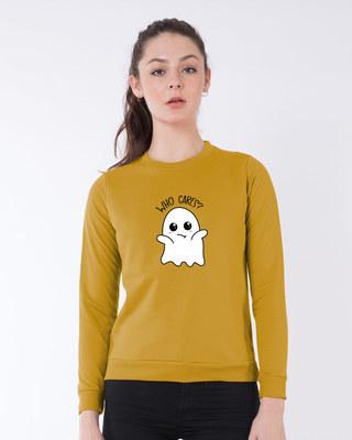 Shop Boo Cares  Sweatshirt-Front