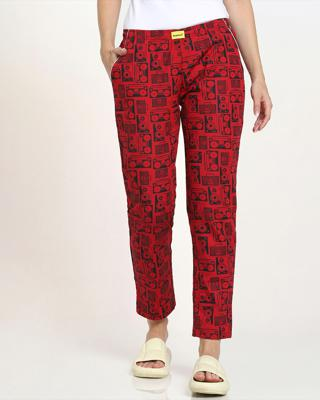 Shop Boomboxes All Over Printed Pyjama-Front