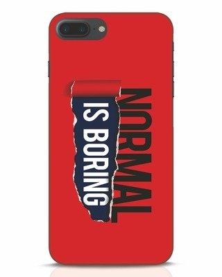 Shop Boring Normal iPhone 7 Plus Mobile Cover-Front