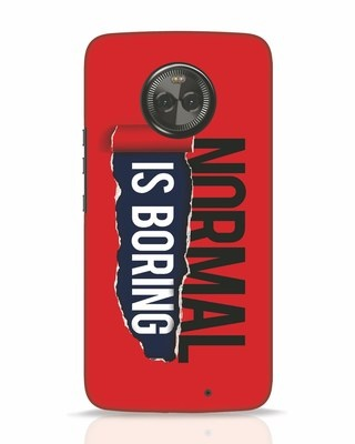 Shop Boring Normal Moto X4 Mobile Cover-Front
