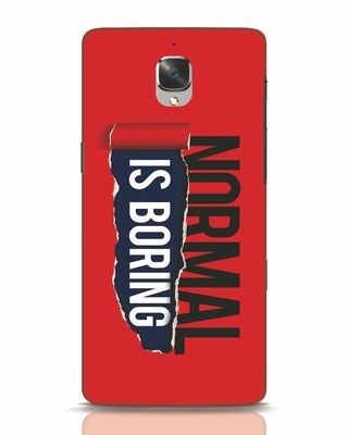Shop Boring Normal OnePlus 3 Mobile Cover-Front