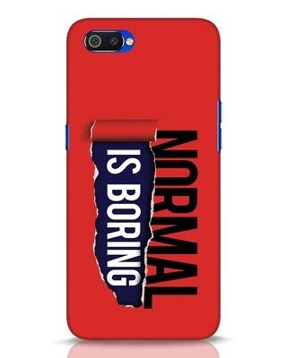 Shop Boring Normal Realme C2 Mobile Cover-Front