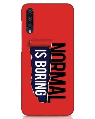 Shop Boring Normal Samsung Galaxy A50 Mobile Cover-Front