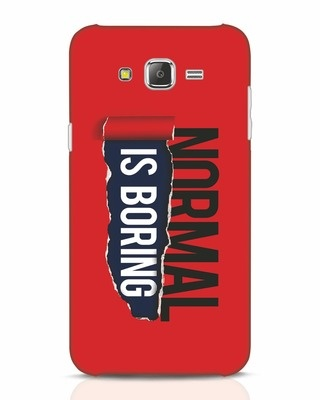 Shop Boring Normal Samsung Galaxy J7 Mobile Cover-Front