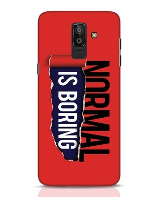 Shop Boring Normal Samsung Galaxy J8 Mobile Cover-Front